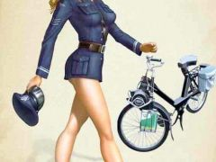 politiedame